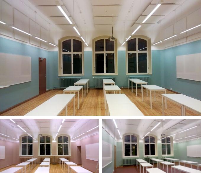 Invändig målning Skola i Stockholm - klassrum